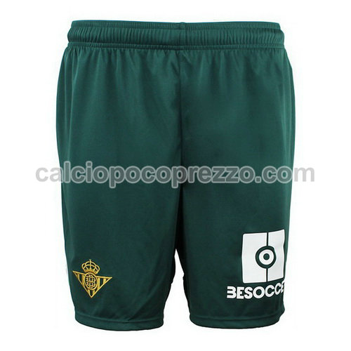seconda pantaloncini calcio real betis 2018-2019